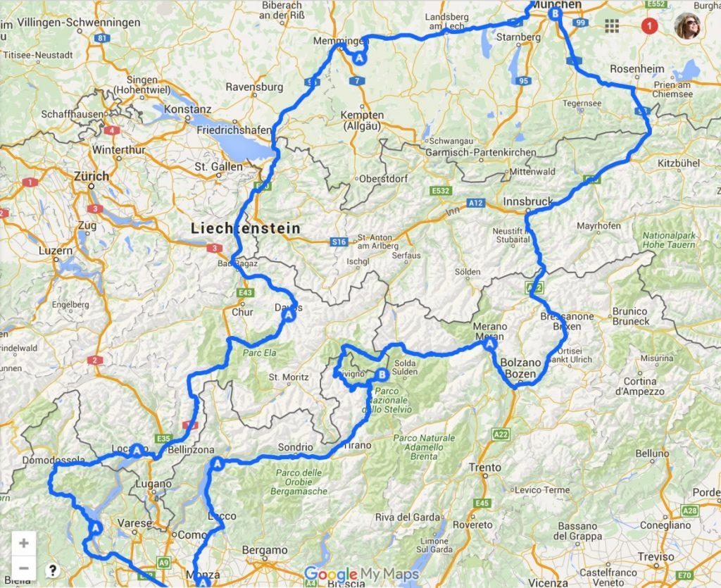 Saksa Pohjois Italia Itavalta Road Trip Kulut Ja Hotellit