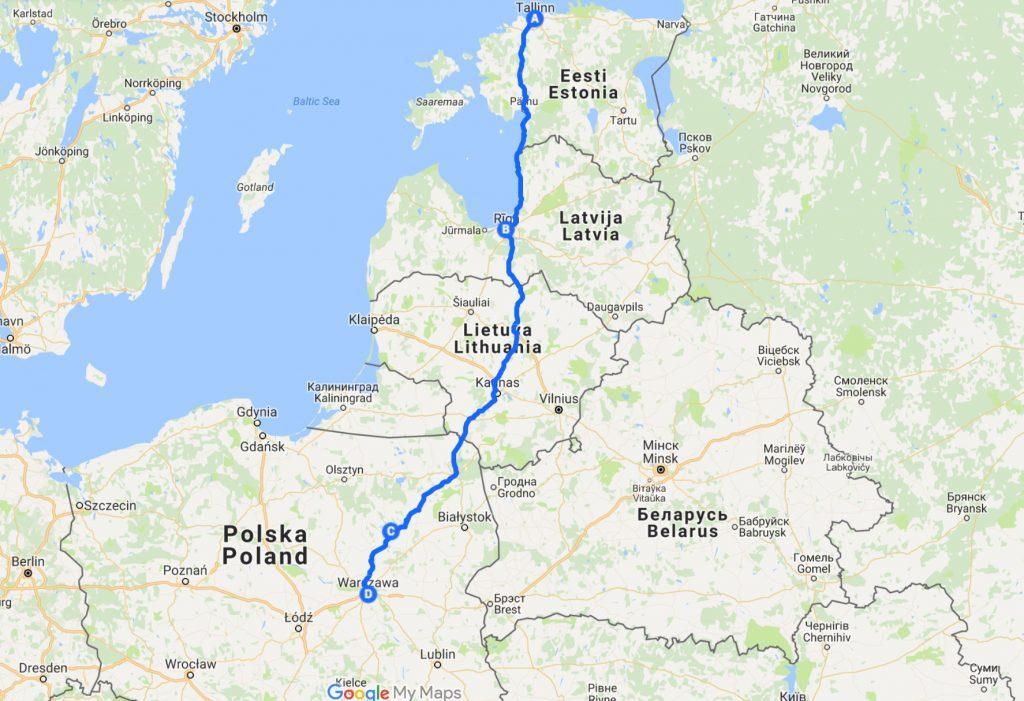 Via Baltica Autolla Baltiaan Ja Puolaan Kokemukset Ja