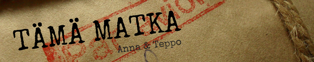 TÄMÄ MATKA