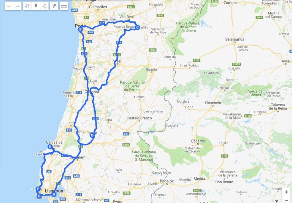 Mita Maksoi Portugalin Road Trip Eurot Reitti Ja Hotellit Tama